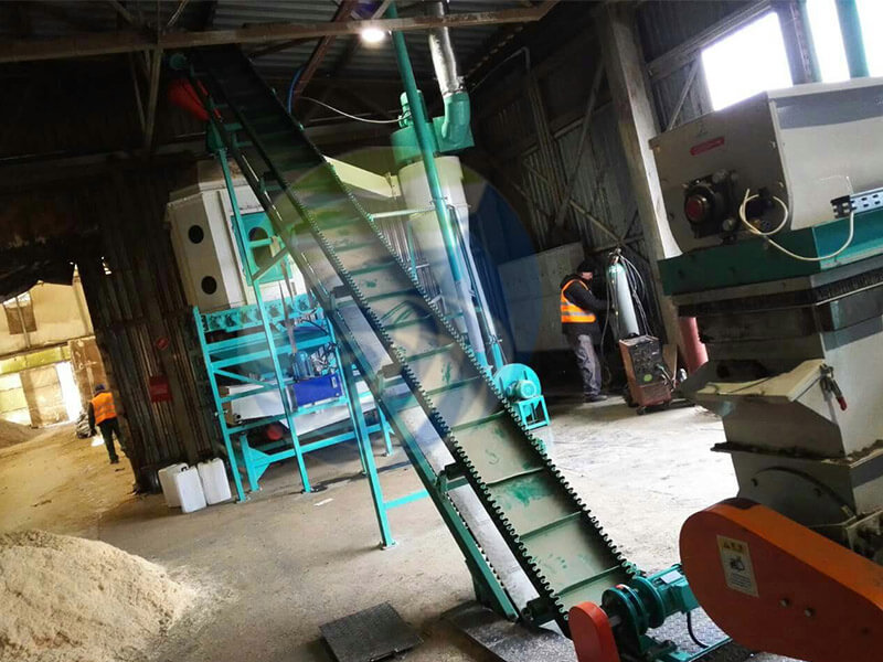 Poland-2TH-Wood-Chips-Pellet-Line