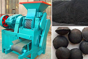 Charcoal Briquette Machine