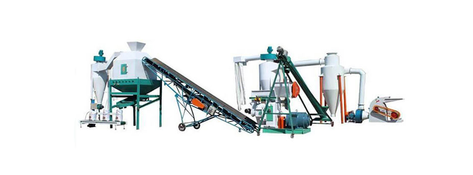Ring Die Wood Pellet Production Line