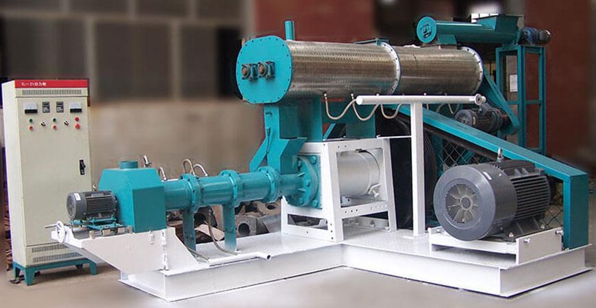 wet fish feed machine