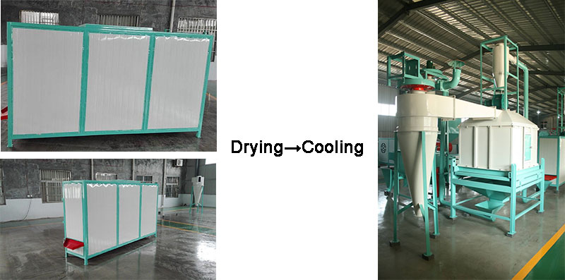 drying and cooling machine
