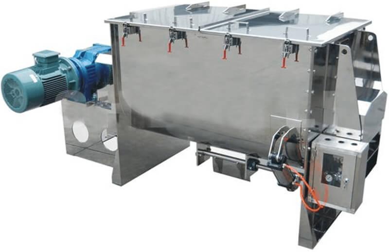 screw ribbon feed mixer