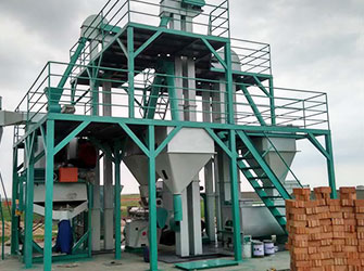 Industry Animal Feed Pellet Plant