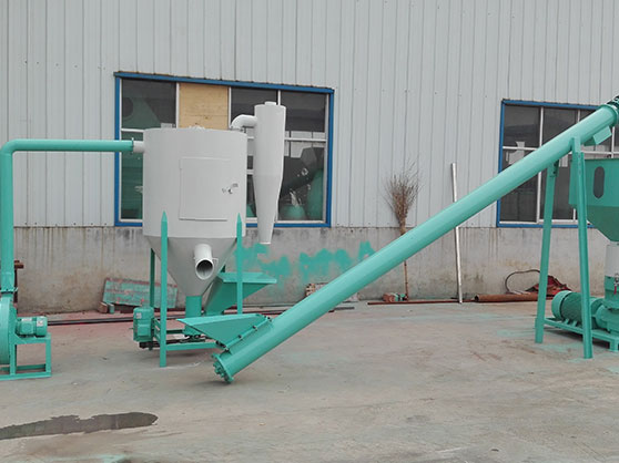 Small Animal Feed Pellet Plant