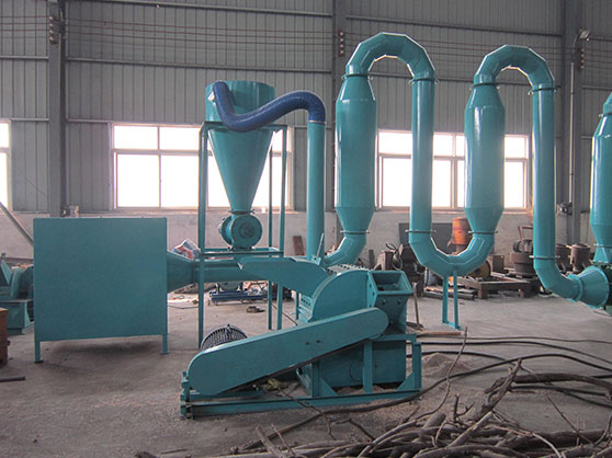 Small Wood Pellet Production Line